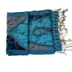 🌺4 for 25$🌺 Oversized Floral Fringe Wrap / Scarf